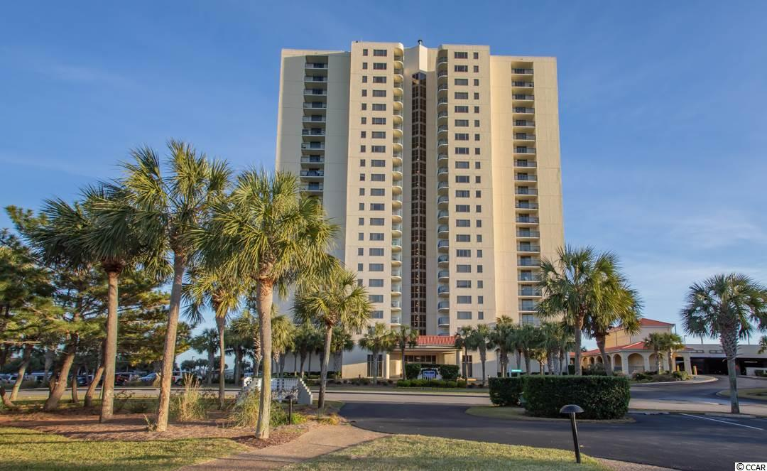 This gorgeous condominium has a HUGE floorplan designed for luxury oceanfront living!! DIRECT OCEAN VIEWS greet you from your living room, oversized balcony, master bedroom and second bedroom! Not only do you have ocean views in this wrap around end unit, but sunset views over the gardens of Kingston Plantation and Myrtle Beach skyline! You get a balcony for the sunrise, and a balcony for the sunset! Open both sliders for a BEAUTIFUL cross-breeze that flutters through your living space. This home has been well cared for and would make for a great second home, full time residence, or investment for rental income. This floorplan gives you a full size walk in laundry room, tons of extra storage, 3 plus size bedrooms and 3 large bathrooms for getting ready to go out to all of the nearby attractions that Myrtle Beach has to offer! The Brighton building is conveniently located near the Embassy Suites Hotel with on-site dining, a waterpark, multiple pools, a lazy river, a half mile of protected coastline, walking trails, the multi-million dollar fitness and spa center, and much more!! The guard gate is 24 hour security staffed so that you can maximize your relaxation within the 145 acre preserved, natural environment with a resort lifestyle!