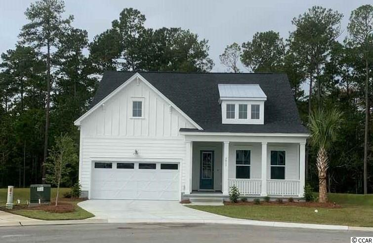 Will be ready early FALL!  This Wren plan offers a spacious and inviting open floor concept complete with sunroom, 3 bedrooms and 2 full baths, Chef's kitchen boasts beautiful quartz countertops and stainless steel appliances. The 2.5 car garage offers ample storage or can even be utilized as a workshop area. Longwood Bluffs is located in Murrells Inlet and part of the Prince Creek Master Planned Community. Offering natural gas, this community is conveniently located approximately 5 miles from the ocean, 3 miles from Murrells Inlet Marshwalk for boating, restaurant, fishing, local events, & relaxing. Brookgreen Gardens is 8 miles away, and retail and grocery shopping only a short drive. Don't forget the nearby award-winning PGA TPC Golf Course where you can golf or just dine for breakfast or lunch with spectacular golf course views. Homeowners have access to the Prince Creek West Amenity Center (The Park) where they can enjoy the fabulous nature trail, kiddie pool, tennis courts, playground, outdoor covered pavilion with fireplace, and grilling area.