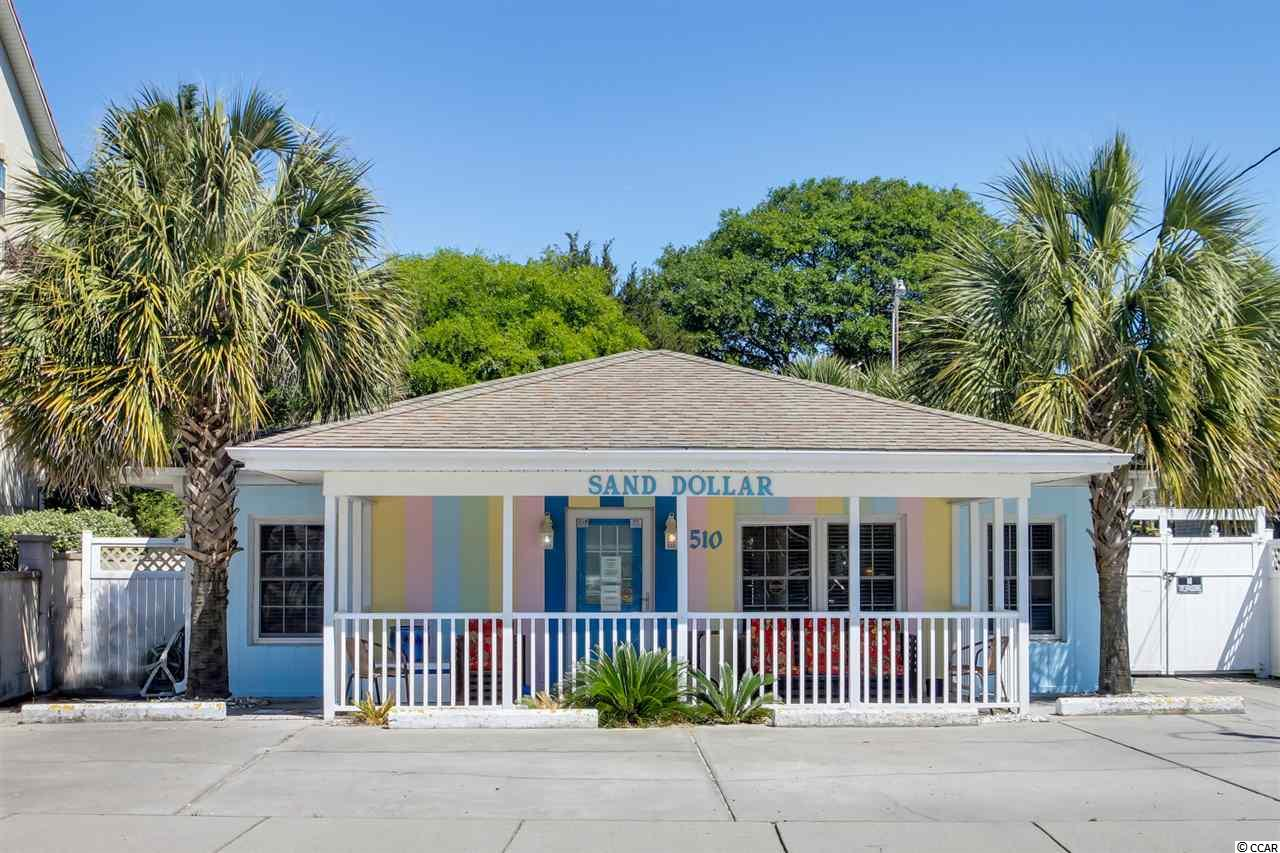Sand Dollar 4BR/2BA beach house with private pool in the heart of North Myrtle Beach!  This is the perfect investment property, has great rental numbers!
