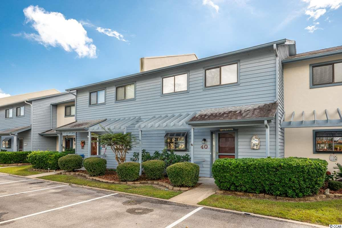 Use this 2BR, 2.5 BA 2-story Townhome as your permanent home, your second home at the beach or as an investment property. Located in Little River, it is in a great central location and close to all the Grand Strand has to offer: great championship golf courses, good schools, excellent restaurants, entertainment, fishing, shopping, medical facilities and of course, the Beaches! Low HOA's, approx. 1428 heat sq. ft. of livable space, Living Room, Dining area, Washer and Dryer convey and assigned parking.