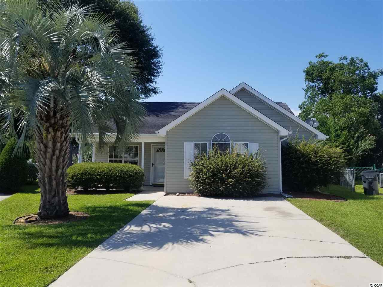 Lovely home with vaulted ceilings, new luxury vinyl flooring, carpet and freshly painted. Situated on a culdesac and conveniently located to all Surfside Beach has to offer. Square footage is approximate and not guaranteed. Buyer is responsible for verification. Seller is licensed SC real estate agent.