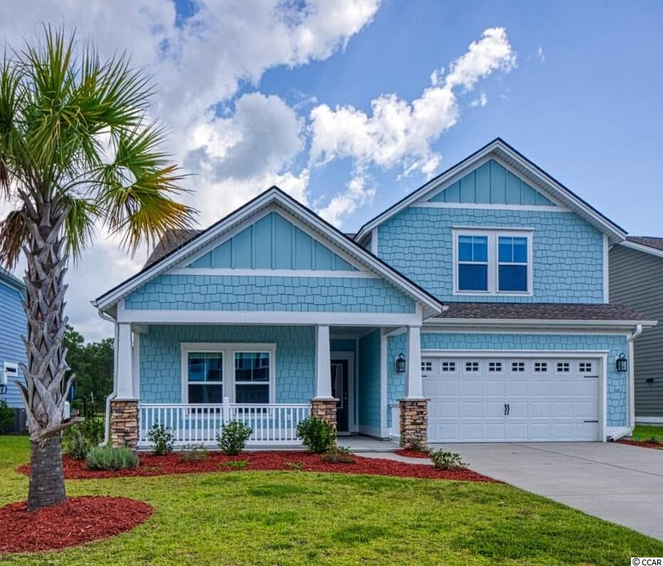 If you are searching for a beautiful coastal design that offers an open and easy living floor plan, an upstairs bonus room with a private bathroom to accommodate a large family or out of town guests and is less than 4 years old, we say Welcome Home to 223 Southgate CT. in Pawleys Island, South Carolina! Whether you're looking for a new permanent residence, a southern living retreat to escape with family and friends, or investing in a place to live for your future retirement, STOP RIGHT HERE! The entire interior of the home has been freshly repainted in a warm neutral color giving every buyer the wonderful opportunity to personalize and style with ease. The living room flows into the dining room and bright and airy kitchen with custom shiplap and stainless appliances. Cozy up in front of the gas fireplace or exit the sliding glass doors to the covered back porch and extended patio to take in the views of the pond while relaxing to the sights and sounds of nature surrounding it. Many will appreciate the convenience of the first floor master bedroom equipped with its own spacious bathroom along with 2 additional bedrooms and a second bathroom. This home is part of The Colony, a quaint and private neighborhood of under 50 homes which was established by Lennar Home Builders in 2016. Nestled between the shops, restaurants, creeks and beaches of Pawleys Island and the historic town and seaport of Georgetown with nearby Brookgreen Gardens and Huntington State Park, there is as much or as little to do as one desires. With Myrtle Beach International Airport approximately 30 miles to the North and an approximation of 75 miles to Charleston International Airport to the South, air travel is widely accessible. Call your Realtor to ask about this tranquil sanctuary today! *Disclaimer – It is the buyer's responsibility to verify all measurements and square footage and any/all information as it pertains to the HOA and the HOA's governing documents, which will be made available upon request. The shed shown in photos does not convey as it has since been removed from the property.