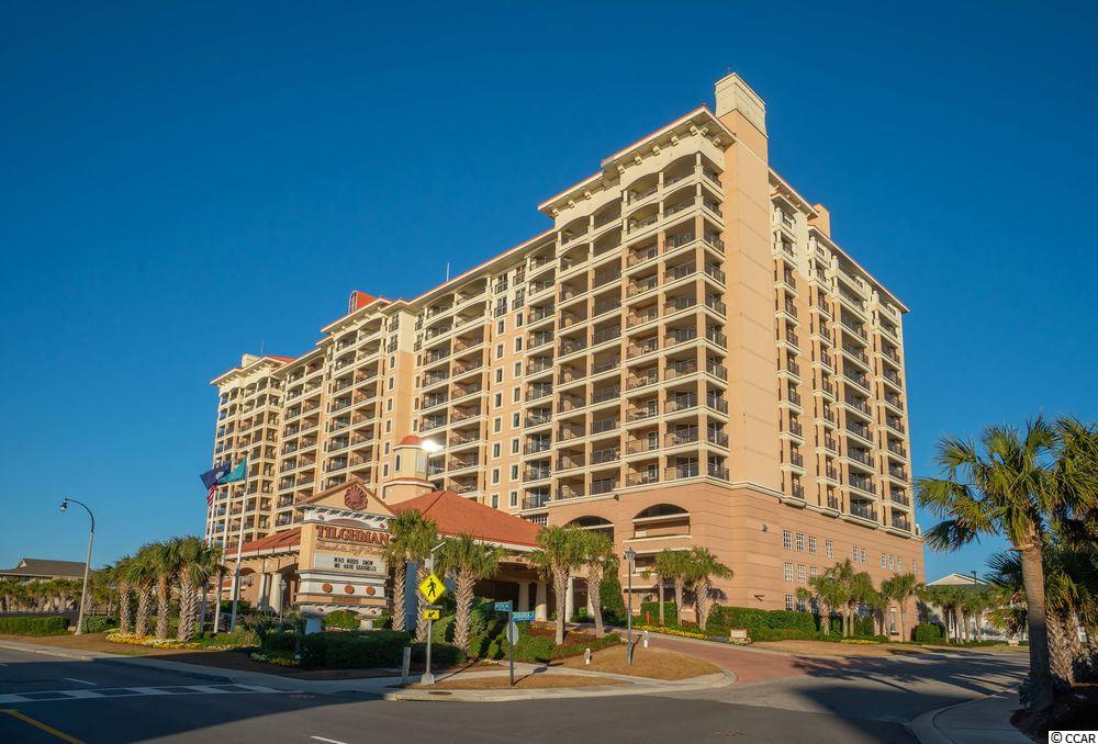 Spacious condo overlooking ocean and amenities in popular year-round resort located in the Cherry Grove/Ocean Drive area of North Myrtle Beach. Mezzanine Level offers convenience of bright and open park-like courtyard leading to the condo entrance. Building offers unsurpassed amenities onsite including indoor and outdoor pools and hot tubs, sauna, lazy river, children's play area and fountain, on site bar and grill, cardio room and more. Perfect investment for family vacation use or rental income.