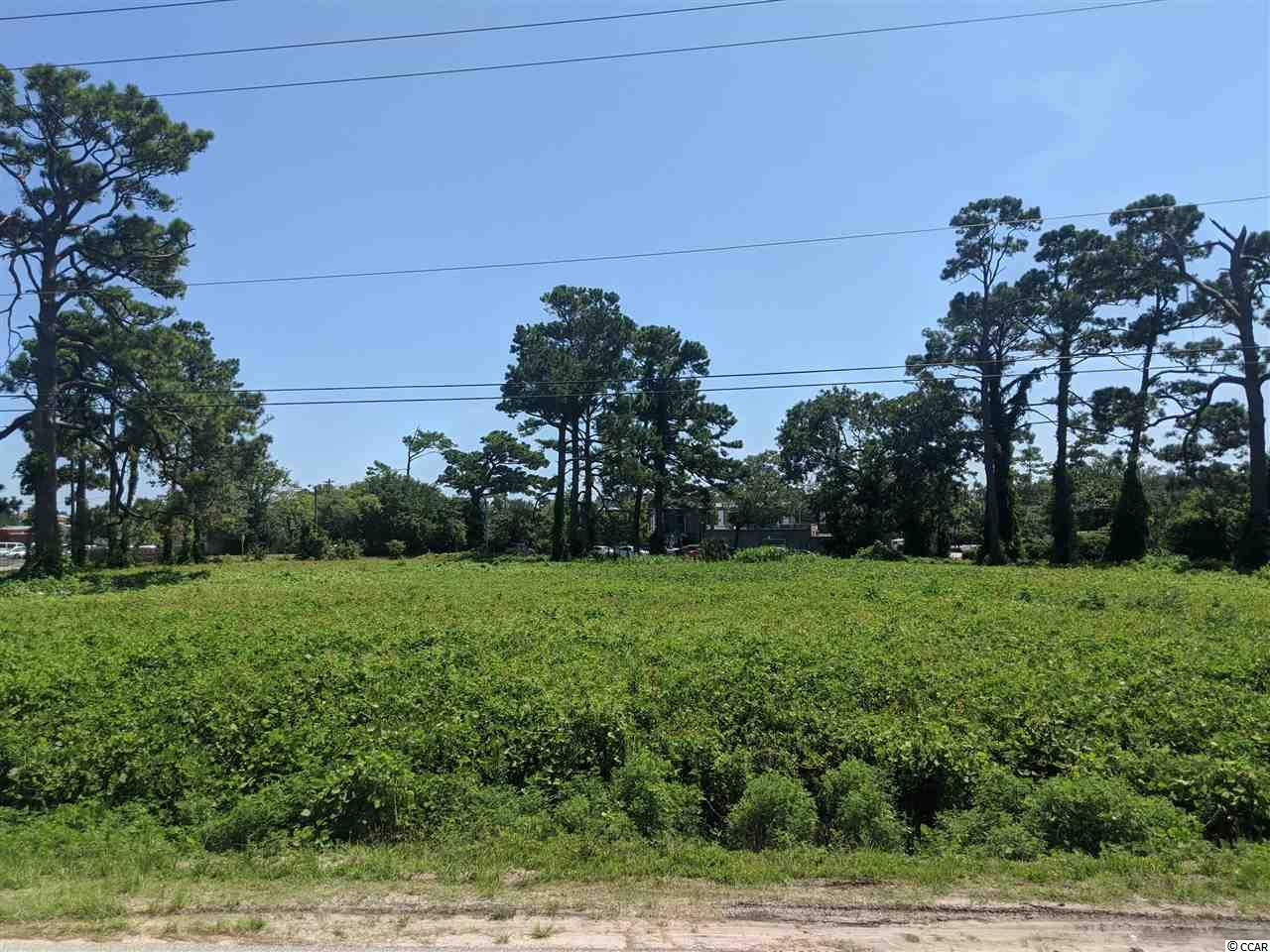 Prime Commercial .26 Acre Lot Zoned for C-3  Downtown Myrtle Beach.  Close to the Beach!  Sign is on the Lot.    Build your Business here Today!