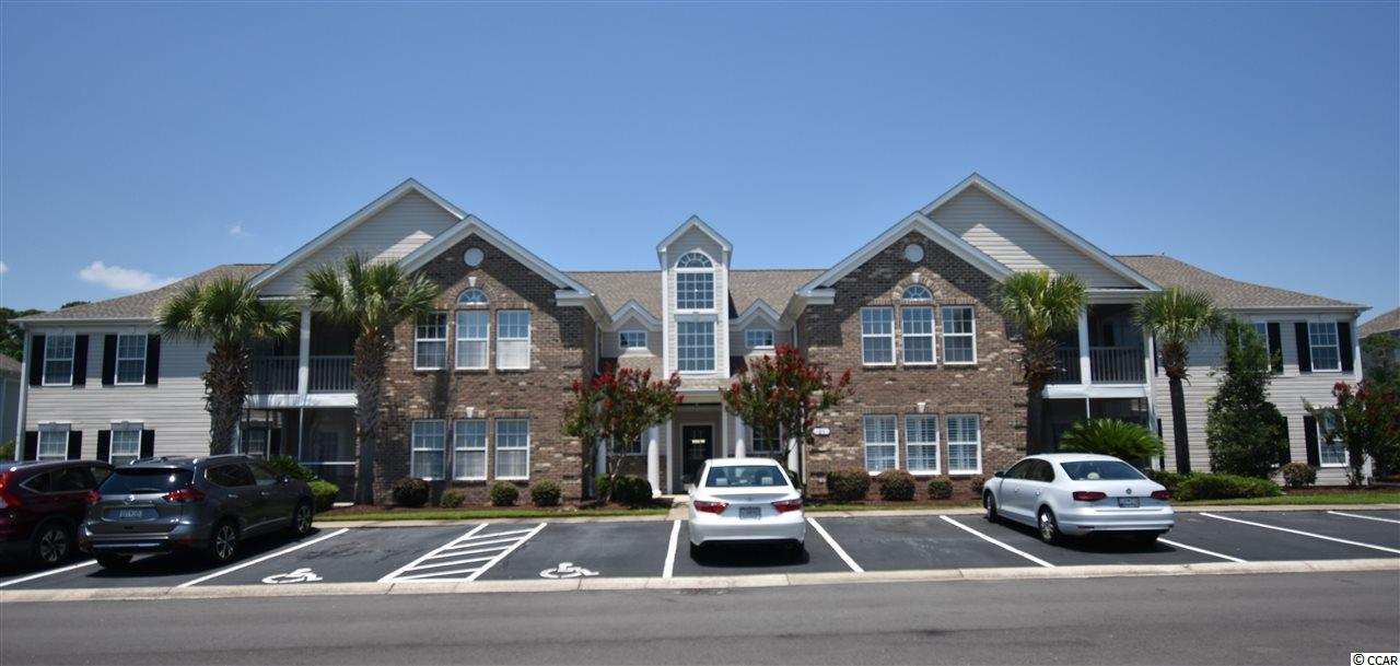 "Love where you live in this beautiful, well kept home located in Winchester of Wachesaw East Plantation in Murrells Inlet, SC! This lovely 2 bedroom, 2 bath condo has an open floor plan with many upgrades such as granite countertops, wainscoting in the dining area, hardwood floors throughout and stainless steel appliances. This first floor condo overlooks the 5th hole of the golf course. The large master suite boasts an 11'5"" x 9'10"" sitting area/office, 2 walk-in closets, and a large bathroom with double sinks. Enjoy your morning coffee or relaxing in the afternoon with a lovely view of the golf course from the screened in porch.  Amenities include an outdoor pool, tennis courts, basketball court, on-site gym, and gated community with security. Winchester has easy access to  abundant shopping, medical facilities, entertainment & restaurants, and it's just minutes to the beach. This condo is a ""must see."" Schedule your showing today!"