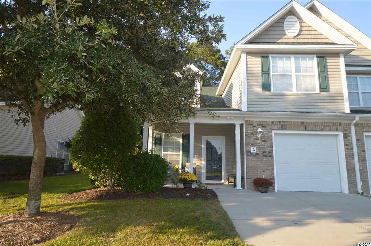 This is the ONE!  It is the only END unit that will not have any new construction behind it! Private and Serene! It is on a dead end street and the Screened Porch overlooks a natural habitat. Upgrades include 42 inch Oak cabinets with Crown Molding, custom Backsplash, newer appliances, Custom Blinds, Tiled Entry/Foyer, Pantry with Custom Shelving, Master Closet with adjustable shelving and power to the Vaulted Ceiling Shelving via light switch! Each Bedroom has a Ceiling Fan with Lights.