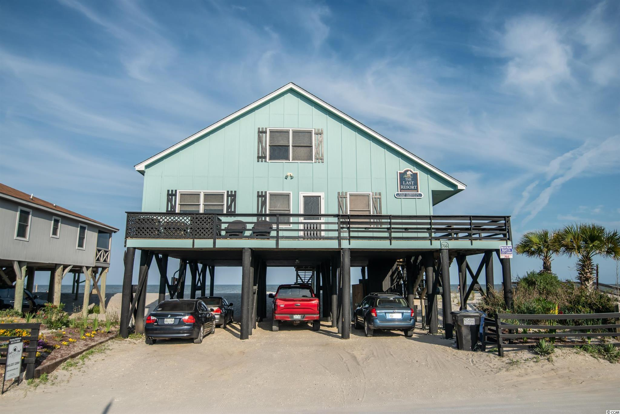 Endless ocean and creek views surround this spectacular Pawleys Island home that is everything you could ask for in a beach house! One of the few extraordinary properties on Pawleys that features an exceptionally large creekfront lot as well as oceanfront, allowing you to enjoy both sides of our treasured island. Boasting 6 spacious, yet cozy, bedrooms and 4 full, roomy bathrooms this home can comfortably accomodate any size family.  Natural light throughout and airy, open living spaces are ideal for entertaining or simply relaxing while overlooking the ocean waves as they roll in. Well thought out kitchen enhanced with lovely granite countertops and stainless steel appliances. Savor the seabreezes while watching family and friends frolic in the creek or on the shore from one of the many large porches throughout.  Full of charm and character, this home is quintessential Pawleys Island! Very rare opportunity as this house has never been available for purchase until now.  Family owned from the beginning and in immaculate condition. Creek dock was built in 2015.  New HVAC systems on both floors. A true gem that encompasses everything that makes Pawleys Island Pawleys!