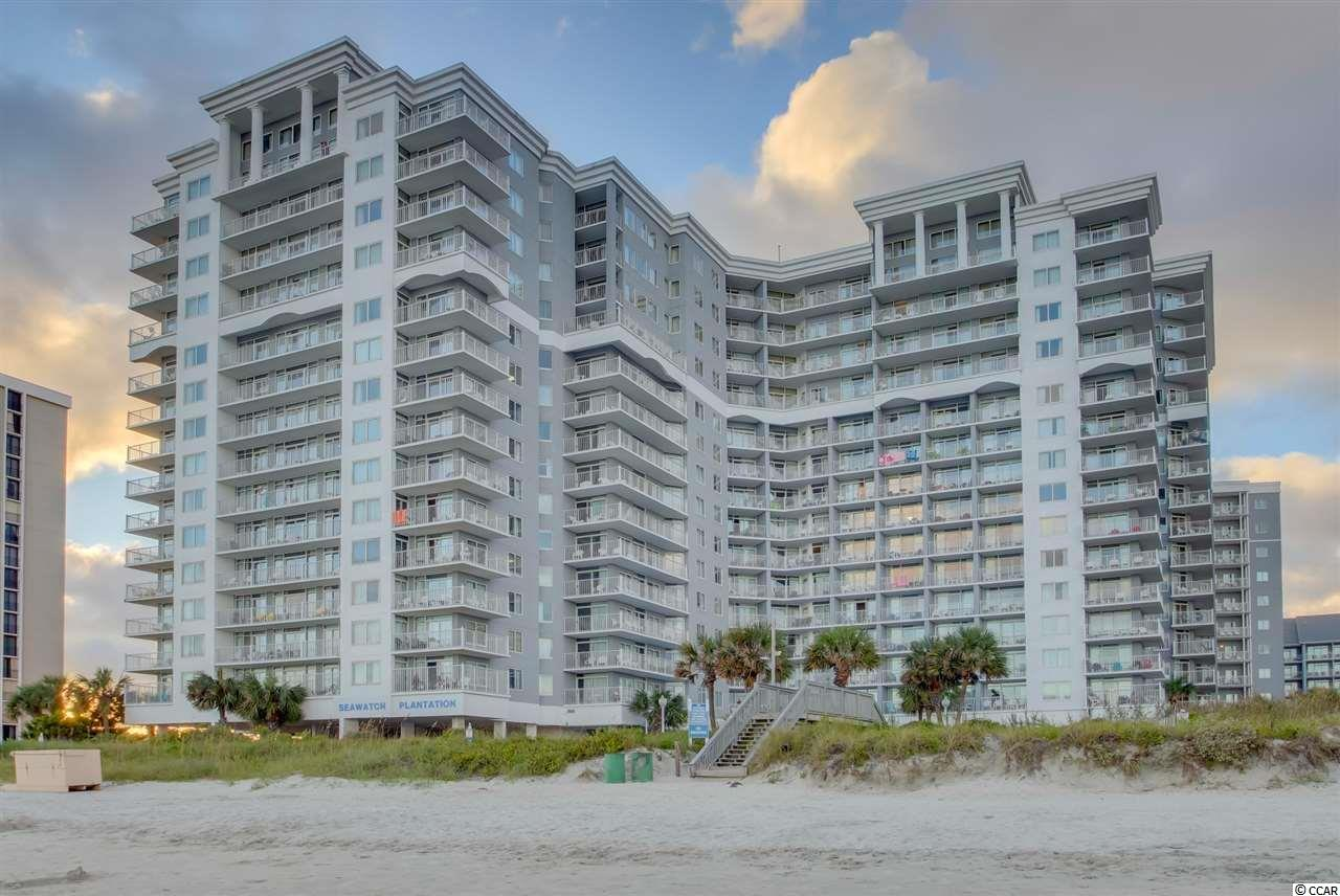 TAKE IN THE OCEAN BREEZE AND PANORAMIC VIEWS OF THE ATLANTIC FROM THE PRIVATE BALCONY OF YOUR 1 BEDROOM OCEANFRONT CONDO. A MUST SEE UNIT GREAT FOR FAMILY VACATIONS AND AS AN INVESTMENT RENTAL PROPERTY. SEA WATCH RESORT HAS AMENITIES GALORE INCLUDING: SIX OCEANFRONT POOLS ,OCEANFRONT TIKI BAR, GAME ROOM, KIDS PLAYGROUND, FITNESS CENTER, HOT TUBS AND TWO LAZY RIVERS!! SEA WATCH IS CLOSE TO RESTAURANTS, ENTERTAINMENT AND GOLF. DON'T MISS THIS GREAT OPPORTUNITY!