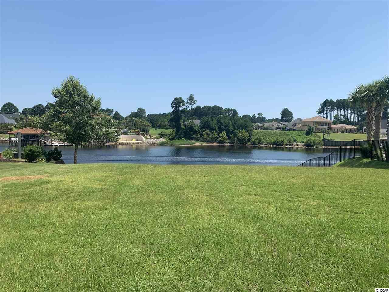 Start living your dream today.  This beautiful large waterway lot that is ready for you to build your dream house.  Bulkhead is already in place.  Highly desired gated Carolina Waterway Plantation offers furnished clubhouse with kitchen and banquet room, outside grill, pool, kids playground, gazebo, tennis court, walking trails, boat ramp, storage for RV and boats . Carolina Forest area offers award-winning schools, grocery stores, medical facilities, recreational centers, library ,religious centers, bike park. Buy now and start experiencing relaxing natures beauty with extraordinary sunrises ,sunsets and water views in Carolina Waterway Plantation.