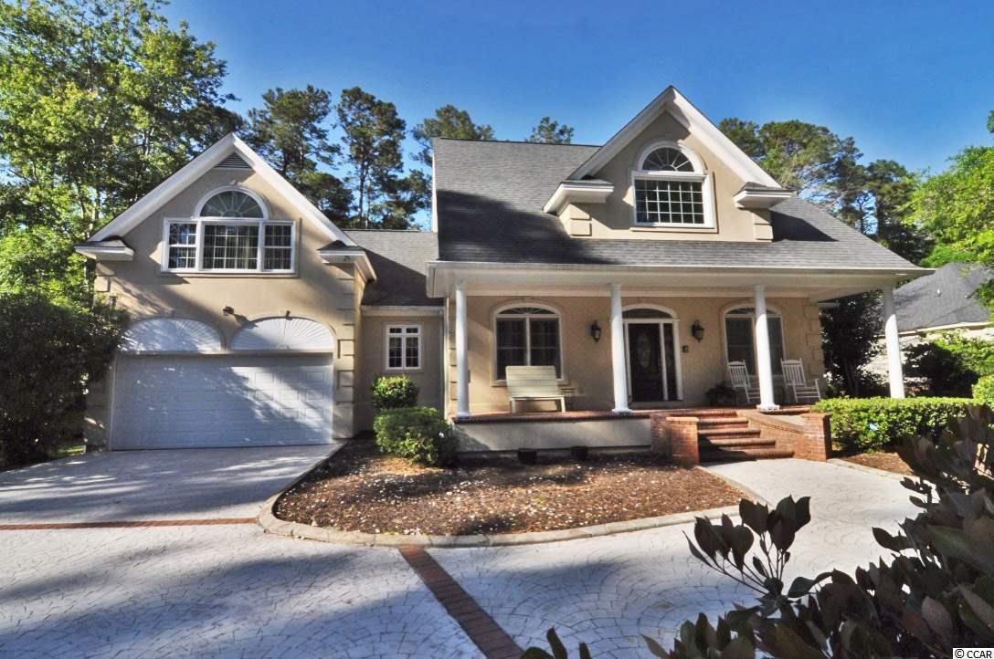 """Welcome to 4339 Hunters Wood Drive in the highly sought after Wachesaw Plantation in Murrells Inlet. Tucked away on one of the quietest streets in the neighborhood, this property sits on .68 acres of land that backs up to the second fairway of the private, Tom Fazio designed, golf course. Buy with peace of mind, as this four bedroom home had a pre-listing home inspection and has the repair invoices to show this home is ready for the next happy homeowner to move right in with confidence. With a brand new roof, all new exterior paint, flashing and caulking, two newer (less than five years old) HVAC units, encapsulated crawl space, plus much more, it will be hard to find a home that has had this many recent improvements for the new buyer to take advantage of in this wonderful neighborhood. Features of this property include (but not limited to): built-in wet bar, Carolina Room, two back decks along with a front covered porch, two stairwells for easier access to second level, new tile flooring in kitchen, freshly painted kitchen cabinets, granite counter tops, Viking six-burner gas range, Viking double oven, tank-less water heater, circle driveway, and a true two-car garage with workshop area. With a downstairs master suite along with three bedrooms, two bathrooms, a bonus room, cedar closet and tons of storage upstairs, this floor plan will certainly impress buyers in any stage of life. This is a great home for the growing family, or ideal for the """"empty nesters"""" that want out of town family and guests to come stay and have their own space when they come visit you at the beach. With only a few other homes in Wachesaw Plantation to choose from, make sure to put this home on your list to see before it's too late. Wachesaw Plantation is a gated community, with 24-hour security guards, a Tom Fazio Private Golf Course and Tennis Club, a private pool area and multiple dining/bar venues (Kimbels, Magnolias & Clubhouse) which overlooks the Waccamaw River/Intracoastal Waterway. """