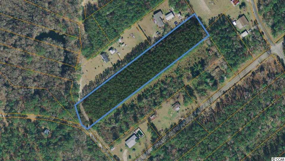 Mostly wooded, secluded acreage tract that is close to the river and close to all the area has to offer.  Located just off Hwy 57, this parcel is only about 8 miles to the oceanfront, only 3.5 miles to Hwy 31 and and close to North Myrtle Beach. The property is rectangular in shape and is located in a quite section, close to the Waccamaw River. The zoning is CFA which allows for residential and some commercial uses.
