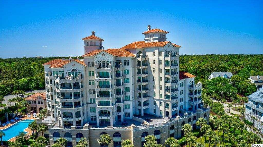 Private exclusive gated community located direct oceanfront in Grande Dunes.  Elevators will take you directly into unit.  This modern 3 BR / 3.5  condo has numerous upgraded features. The Kitchen has granite countertops, new cabinets, SS appliances, upgraded appliances, breakfast bar and large eat-in breakfast nook.  Living room has fireplace and expansive balcony.  Two Master Master Suites with large custom walk-in closets and oceanfront balconies; one Master Baths have jetted tubs and separate showers (one with double vanity; one with single vanity).  Guest Bedroom has large closet and private balcony.  New refrigerator in 2019; washer/dryer to remain.  Amenities include pool and fitness room, outdoor covered eating area with grills, 2 assigned parking spaces, private beach access and private Ocean Club membership.   NO short term rentals allowed.