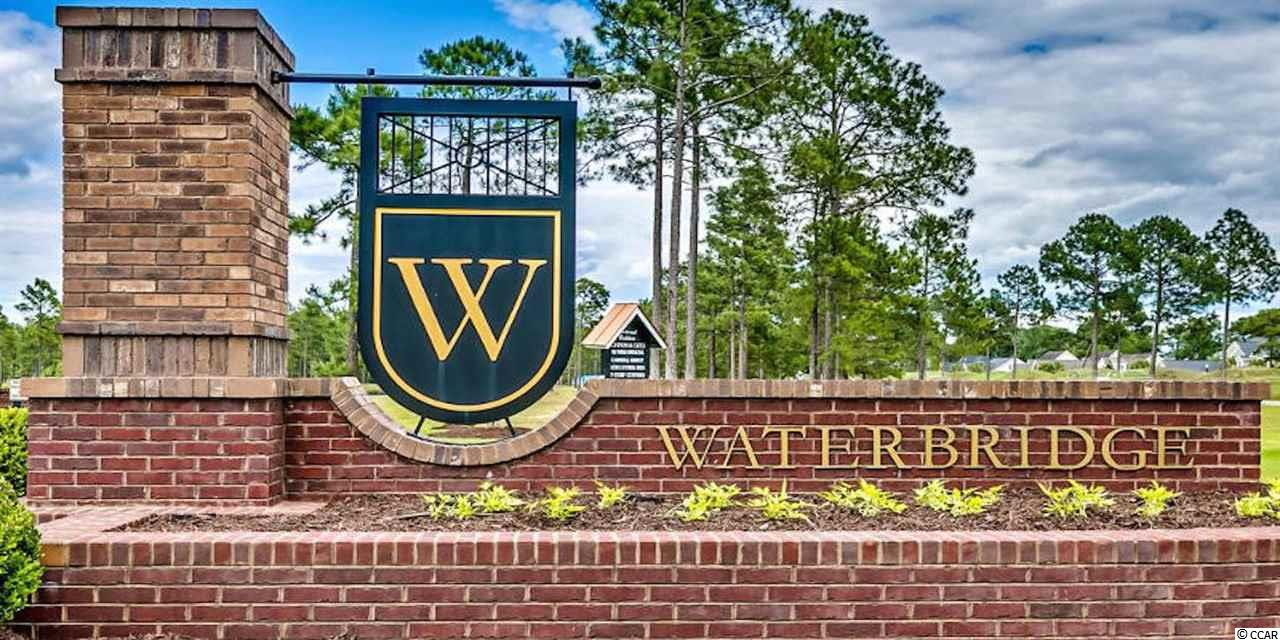 Waterbridge has a 66 acre recreationally lake for fishing and boating. This is a upscale community to build your retirement dream home. Walking distinct to amenities