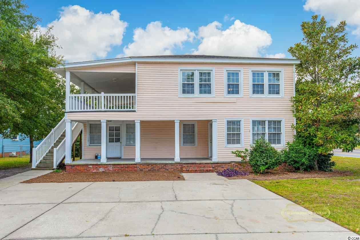 LOCATION, LOCATION Two duplex in heart of myrtle beach just a few blocks from the beach!Close to school, shopping, and more .The  duplex at 2902 Oak Street have 2 Bedrooms and 1 Bath. The duplex at 521 30th Avenue has Unit A is downstairs and has 3 Bedrooms, 2 full baths, and one half bath.  Unit B is upstairs and has two bedrooms and one bathroom.. All units are occupied with annual leases in place.