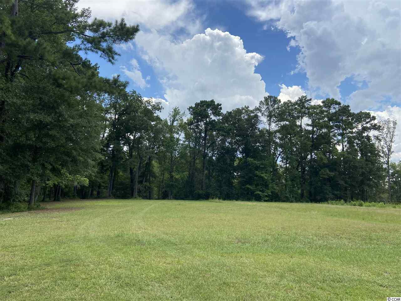 MOST PERFECT SETTING ON THIS LARGE - OVER 1 ACRE HOMESITE OVER LOOKING THE WACCAMAW RIVER COMING FROM THE WEST AND NORTH AND SOUTH ALONG THE INTRACOASTAL WATERWAY!  BUILD ANYTIME!  COMMUNITY OFFERS SECURITY GATE, GORGEOUS CLUBHOUSE AND RESORT STYLE POOL, EXERCISE ROOM, PICNIC AREA, BOAT RAMP, BOAT AND RV STORAGE, TENNIS COURTS, BASKETBALL COURT, AND KIDDIE PLAYGROUND!  HOMESITE OFFERS - WALK WAY BRIDGE TO THE INTRACOASTAL WATERWAY WITH BOAT DOCK FOR LARGE VESSELS AND A SEPARATE FLOATING DOCK!  HOMESITE FOR THE HOME IS CLEARED AND READY FOR BUILDING!  THIS IS A HIGH AND DRY LOT TO BUILD ON UNLIKE THE MANY OF THE OTHER HOMESITES ON THE WATERWAY!  COME BUILD YOUR DREAM HOME TODAY ON THE INTRACOASTAL AND WACCAMAW RIVER!