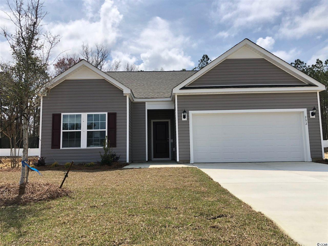 This is a to be built home, we are currently taking lot reservations for the new phase. Stop by our Model for Details.  Hampton Park is a natural Gas Community located on 707 near 544. Easy access to 31. We are located minutes from beaches, shopping, golf, restaurants, medical facilities and more. This is a small 80 home community that will feature lots that view the pond, as well as backyards that have wooded views. Sidewalks, pool. Fencing allowed.
