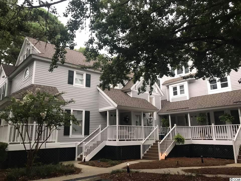 Lovely 3 bedroom 3 full bath townhouse with upstairs loft! Fully upgraded and professionally decorated. Directly located on the Inlet. Cozy fireplace, sunroom, wet bar, perfect floorpan for entertaining. Perfectly situated in the heart of the low country.