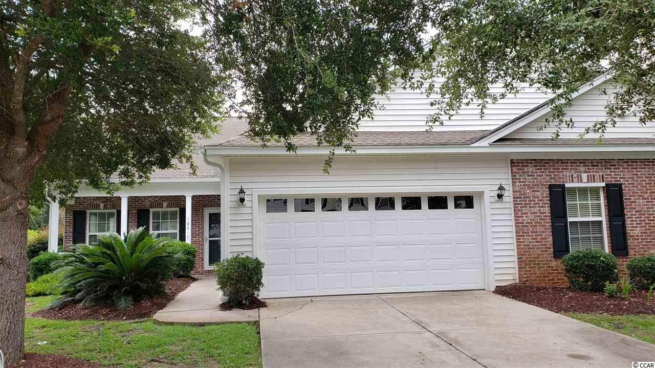 This is a lovely half of a duplex located in Rose Run off Pawleys Island. Extra large living area 24x18 with fireplace that also looks into the dining area. There is a screened in porch off the back and some extra parking. The design has an added addition off the dining which can be used for study or office. The kitchen has been updated with newly installed granite counter, newer appliances and the entire duplex has been painted for a clean smart look. Nice laundry area is just down the hall from the second bath and bedroom. The master bedroom has a walk-in closet, a large tub and also a shower as well as a double vanity. This duplex is just down the street from the Hammock Shop complex so you can walk to many retail establishments and restaurants. Square footage is approximate and not guaranteed. Buyer is responsible for verification.