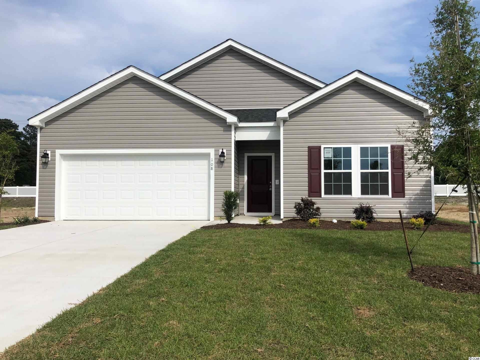 This is a To Be Built home.  Stop by our Sales Center for details.    Hampton Park is a natural Gas Community located on 707 near 544. We are located minutes from beaches, shopping, golf, restaurants, medical facilities and more. This is a small 80 home community that will feature lots that view the pond, as well as backyards that have wooded views.    *Photos are of model home and do not reflect color selections and options of actual unit for sale.*
