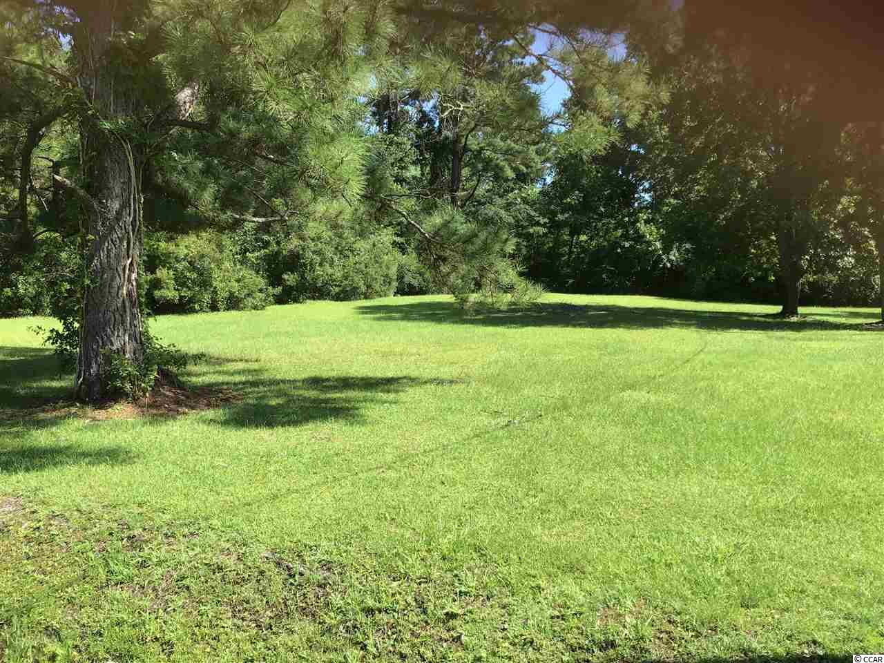 Great opportunity to own large half acre lot just west of the Intracoastal Waterway in the unincorporated part of Myrtle Beach. Plenty of room for your dream home. Location is close to shopping, medical, entertainment, and the beach, while feeling like you live in the country.
