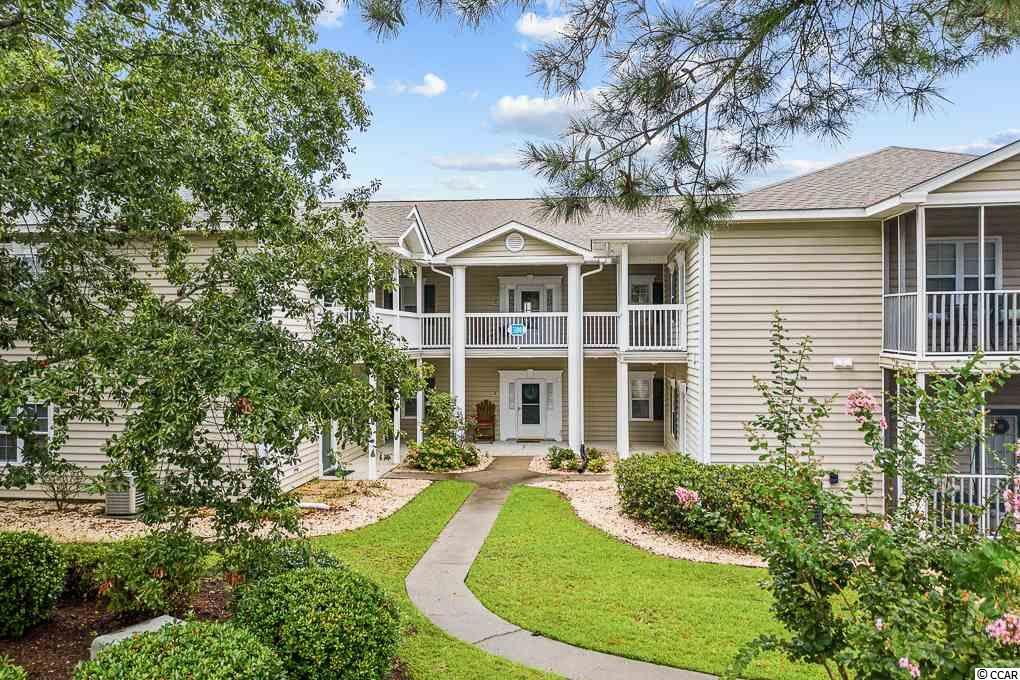 Situated just 3 and a half miles from the Atlantic ocean! Find this well appointed three bedroom condo with a screened in porch overlooking the pool. Nice open concept, large master bedroom and walk in closet. This condo is a split floor plan for maximum privacy. Laminate floors and tile through out the condo, makes it very low maintenance. This building is tucked in the back of the complex, where you find a very peaceful environment. This condo is close to everything at the beach! 10 minutes from the Murrells Inlet marshwalk, 15 minutes to broadway at the beach! This would be a great second home or investment property. It won't last long!