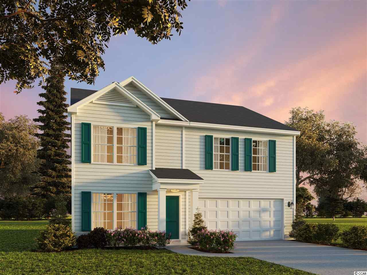 This is a to be built home, taking reservations to build in new phase.  Stop by Sales Center for details.   Hampton Park is a natural Gas Community located on 707 near 544. Easy access to 31, fantastic location! We are located minutes from beaches, shopping, golf, restaurants, medical facilities and more. This is a small 80 home community that will feature lots that view the pond, as well as backyards that have wooded views; a pool and sidewalks. This plan features a living room or study down/ 4 bedrooms upstairs and a den.  Can convert to 5 bedrooms for small charge. *Photos are of model home and do not reflect color selections and options of actual unit for sale.*