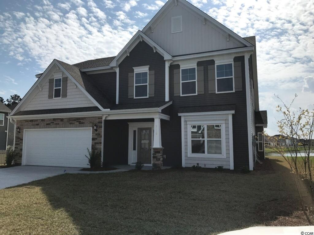 To Be Built - Victor-Plan  Model Home open every day! Mon-Tues 11-5, Wed 1-5, Thurs-Sat 11-5 & Sunday 1-5. Spacious single family plan with 5 bedrooms and 2 family rooms offers personalization available to make it work best for your needs! Options available in this plan include two master suites, 3 full baths, sun room or covered rear porch and a 3 car garage. Versatile Victor plan with a 2 car garage starts off as 5 bedrooms and 2 family rooms with 2 1/2 baths. This home is to be built so the selection in plan options and colors can still be decided by you!!  You may choose to add things to personalize your home like a fireplace, 3rd car garage, a 3rd full bath or 2nd master suite on 2nd floor or even a sun room!! Many walk-in closets for comfortable family-style living. Bay window available in eat-in area adjacent to kitchen for larger everyday tables. Formal dining room available with coffered ceiling for those special occasions we all enjoy. Large laundry with cabinets can be added over washer and dryer area on main floor. Large family room can be built with fireplace to set the mood for a cozy evening. Gourmet Kitchen includes stainless appliances, granite counter tops, staggered cabinets with crown molding and and a generous pantry. A sliding glass door leads to the included patio or add a covered porch from the eat-in area for ease in outdoor entertaining. The yard is fully irrigated so you can enjoy a beautiful lawn. Built HauSmart for energy efficiency and comfort by an Award Winning builder. Clear Pond is a much desired neighborhood convenient to shopping, Conway hospital, restaurants and schools, including Coastal Carolina University, golf and just minutes to the beach and all the Grand Strand has to offer. Clear Pond is a natural gas community. The Clear Pond resort-style amenities offer a clubhouse for gatherings, a large well-equipped exercise facility, a lake with walking trails; playgrounds for children and two pools for swimming, sunning or just relaxing. Photos are of a finished Victor in the neighborhood. Pictures do show some upgrades that would be at an additional cost. See sales representative for further details. Homesite premiums may apply.