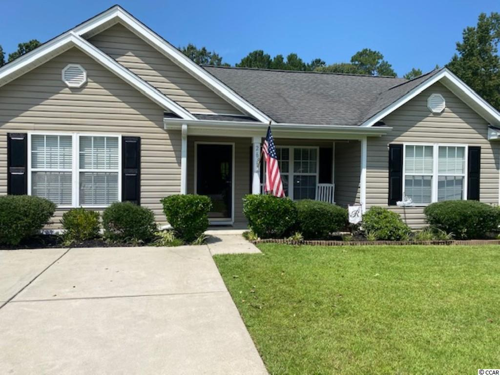 This home is located close to downtown Conway and is located on one of the largest lots in the neighborhood. The home features a front and rear porch to enjoy the outdoors, large master bedroom and has been maintained very well. Built in 2006 and a short 30-40 minute ride to all beaches.