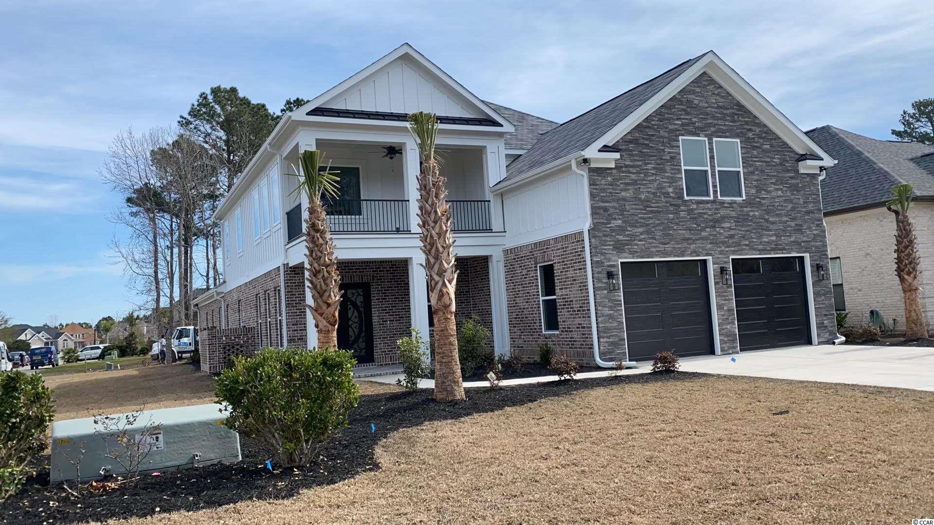 This 5 bedroom 4.5 bath in the sought after Carolina Waterway Plantation will be absolutely beautiful! Located on a corner lot towards the front of the gated community. As you enter this over 3500 heated sqft home will notice the large two story foyer and a staircase heading to the second level. The main level will have a large open kitchen living room concept with an over sized master suite and another full bedroom with its own bathroom. As you head upstairs will be a large game room with 3 more bedrooms and 2 more bathrooms. Not only will the inside of this home be packed with high end finishes and upgrades the backyard area will truly be paradise with a fully equipped outdoor kitchen and a 12x24 POOL and 5x5 hot tub!. Carolina Waterway Plantation is a 100% custom home Intra Coastal Waterway community located conveniently to all of Myrtle Beach has to offer and minutes away to the beach! With onsite boat storage, boat ramp and a full size clubhouse pool area you have it all. Book your showing today and still have time to pick out certain finishes and upgrades.