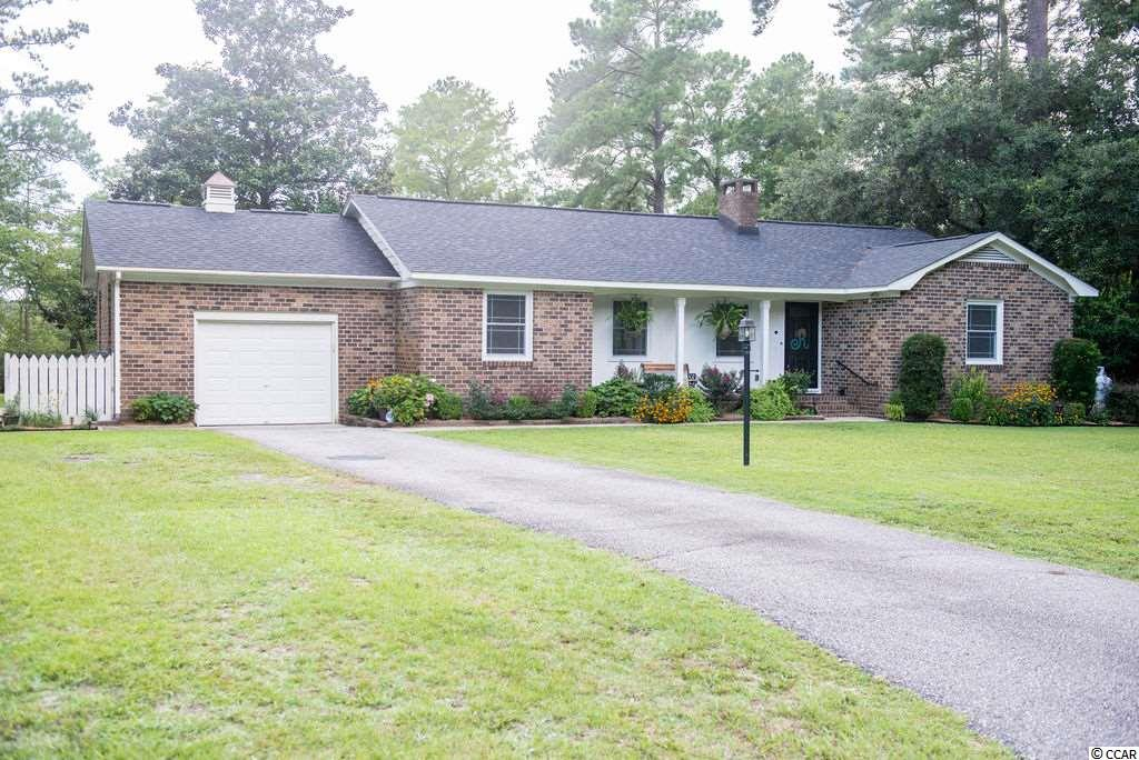 Peaceful, beautifully maintained ranch on large lot with tranquil pond and golf course views. This unique property has upgrades throughout including flooring, windows, electric, roof, and all new interior doors. Relax in the beautiful Carolina room in this quiet neighborhood setting while enjoying the convenience to shops, restaurants, medical services, and Coastal Carolina University. This 2bd/2bath has gorgeous landscaping and sits on a cul-de-sac. This is a must see! Buyer responsible for verification