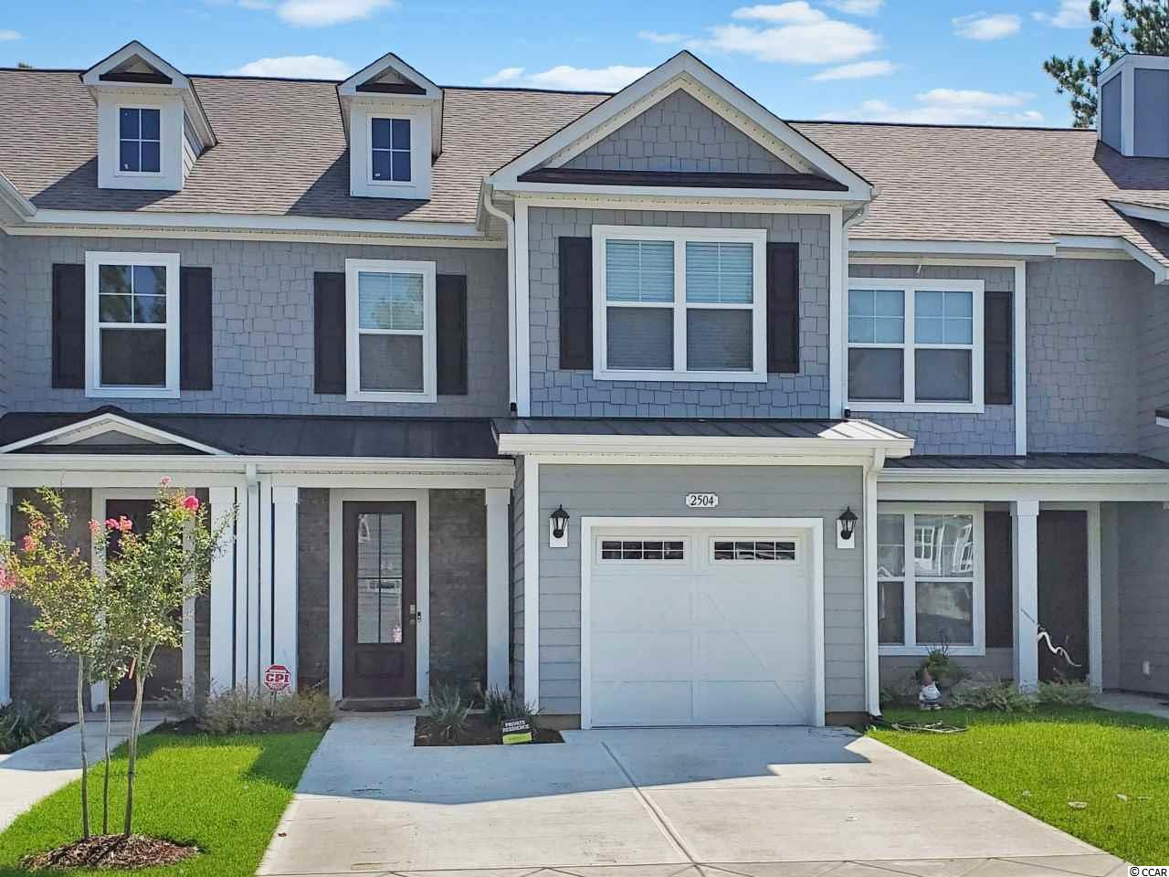 Living the Dream!! Super Nice Upscale Townhome in the Gated Community of Blackwater at the Dye in Barefoot Resort and Golf.  This townhome offers 3 bedrooms and 2.5 baths is located on the 1st fairway of the Dye Golf Course.  This open floor plan boasts first floor ceramic tile throughout, stained oak stair treads, screened porch, granite counter tops, white painted maple cabinets, high end Frigidaire Gallery stainless steel appliances, Skybell door camera, and custom blinds. You will have access to Barefoot Resorts amenities which include 4 championship golf courses, driving range with adjacent Bar & Grill, Greg Norman golf academy, a private beach cabana with seasonal shuttle service to the cabana, 15,000 sq ft saltwater pool on the ICW, full service marina, and restaurants.  With Barefoot Landing being a short drive by car or golf cart,  enjoy the many restaurants, attractions, and shopping that it has to offer.