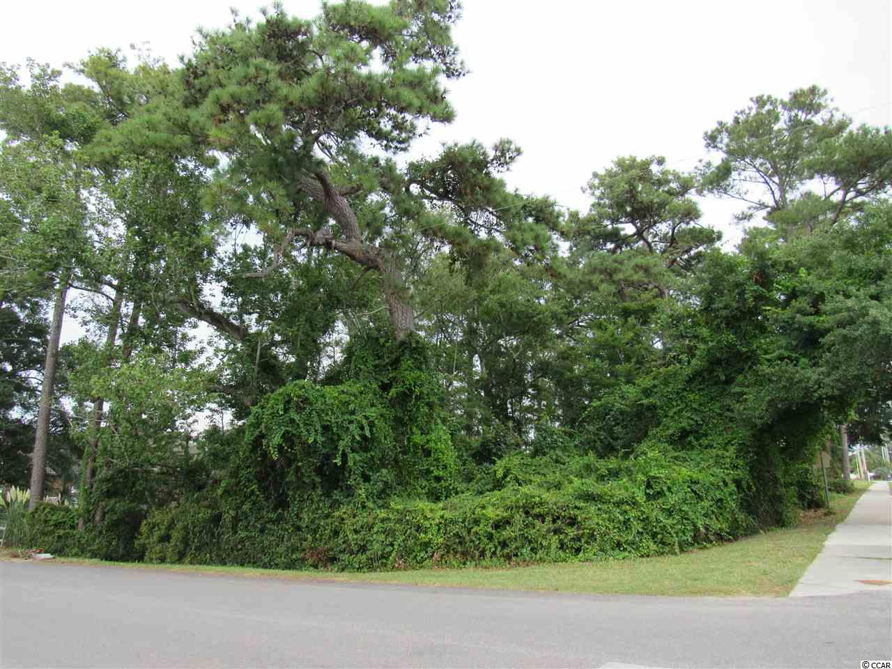 Great location to build the house of your dreams! The lot has .59 acres in the desirable Ocean Drive Beach section of North Myrtle Beach.  Walking distance or a short golf cart ride to the beach. Close to shopping, restaurants, attractions, entertainment and of course the beautiful beach.  Lot has road frontage on 11th Avenue South, South Hillside Road and 12th Avenue South.  Flood Zone X = Minimal Flood Hazard!