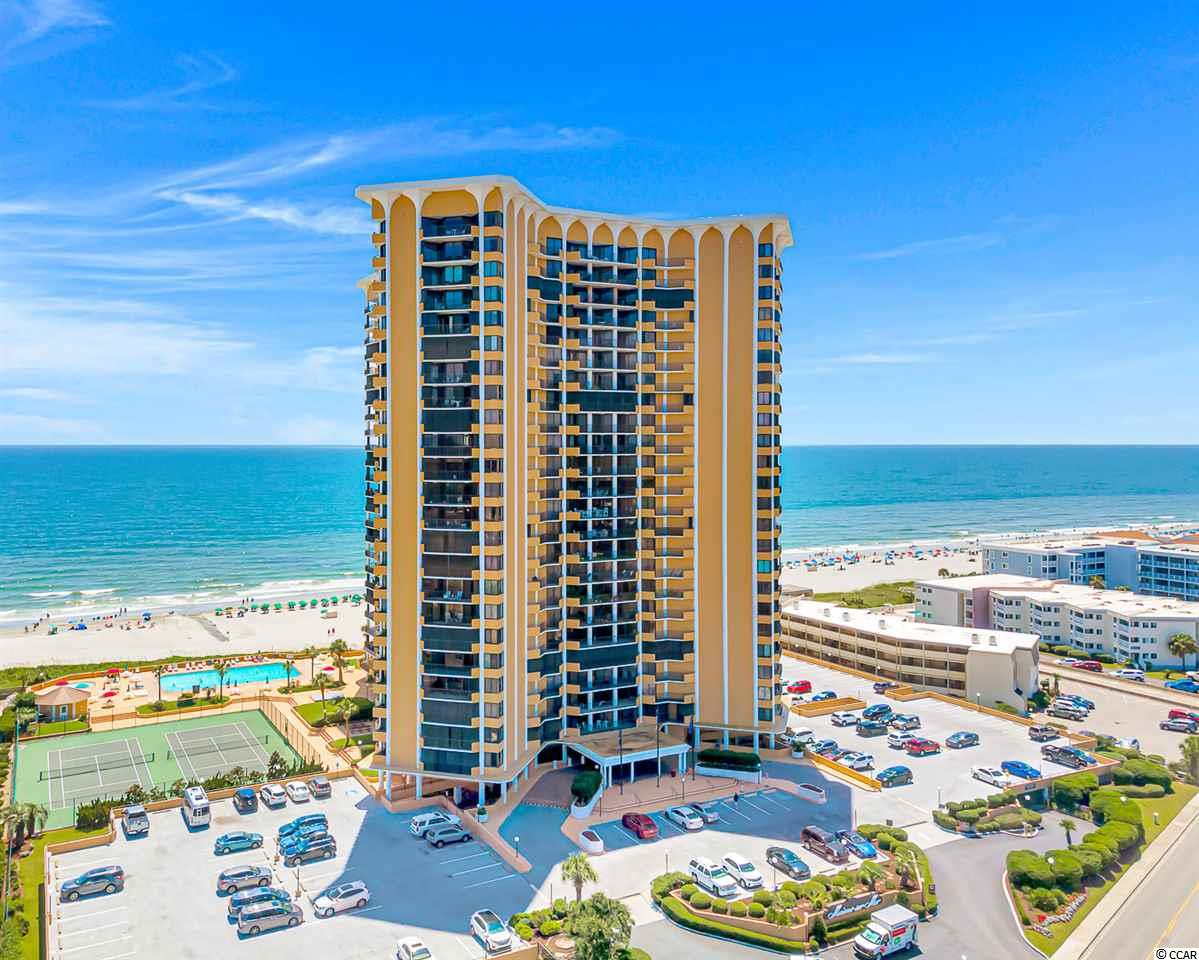 If you're looking for a LUXURY condo in the highly desired Arcadian area of Myrtle Beach, look no further. This unit has been completely remodeled throughout and no stone was left unturned. Located in the prestigious, oceanfront Maisons-Sur-Mer building. As soon as you step into this unit, you'll be stunned! It has been tiled throughout, even the balcony. It features a large open kitchen/living area with plenty of space for entertaining. The kitchen is to die for with upgraded granite tops, high end stainless steel appliances and custom lighting! Each bedroom has their own custom remodeled bathroom as well as private balcony access. The unit does feature a laundry room with full size washer and dryer. Property also features a dining area as well as custom moulding throughout the unit! The features of this condo go on and on! Even the beautiful photos don't do it justice. This property is a MUST SEE! To top it off, the amenities at this property are top shelf and plentiful! They include: A large olympic sized swimming pool, kiddie pool, pool bar, gas grills for cookouts, putting green, underneath parking garage, an inside lounge with an ocean view, live music, onsite restaurant with condo delivery available, in house dining room, fitness rooms, sauna, tennis courts, 24 hour security and maintenance, a trash shoot on every floor, billiards room, media room and more. This property is a truly one of a kind. Every Sunday, there is a cookout onsite Memorial-Labor Day as well as live music. This entire property defines true luxury living. This unit would make a perfect primary residence, vacation home or luxury rental property. You don't see these on the market every day and it won't last long. Schedule a showing today!!!