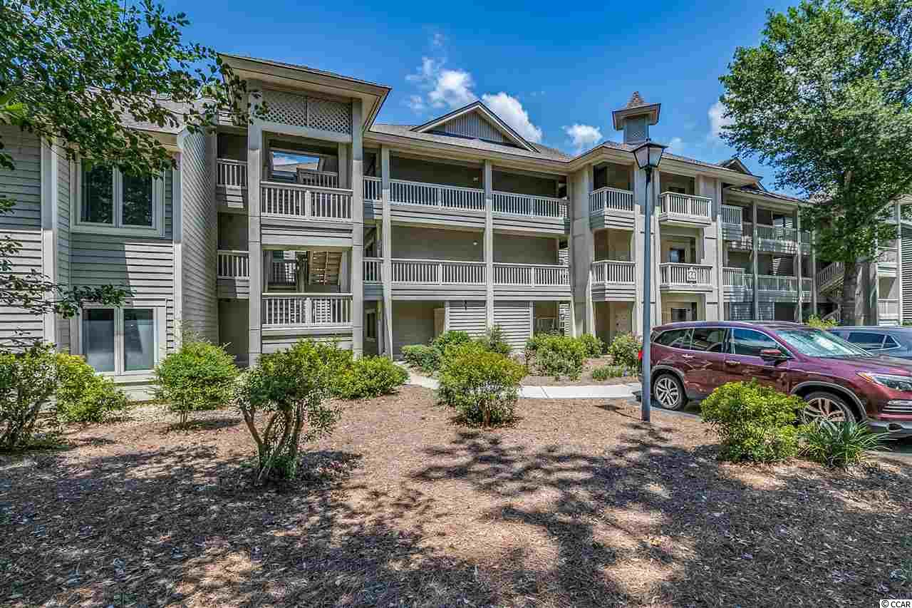 Excellently maintained 1st Floor two bedroom unit in prestigious Tidewater. Beautiful surroundings of this Intracoastal golf community. Overlooking from your screened- in porch is the 8th hole of Golf Coarse, Marsh & Inter-Coastal Waterway views . Stainless steel appliances, New Hot Water Tank, Custom Blinds around Bay window in Living Rm. Master Bedroom/Bath is updated shower, double sinks. Walk out to your private screened porch. Tidewater is a gated community which offers many amenities. Swimming pools, fitness center, four tennis courts two which are clay, golf clubhouse,  Tidewater's private oceanfront cabana. Features include: gated parking, sun decks, elevator, screened porches, men's and women's changing rooms and a kitchen area.