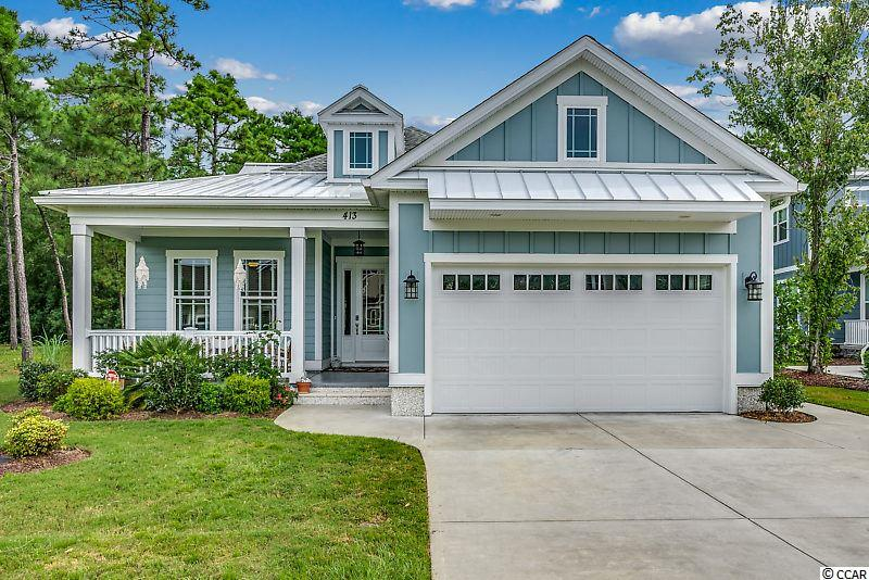 It's time to come home to Waterbridge!  This stunning four bedroom, three bathroom home is just waiting to be yours.  As you enter, you'll be greeted by the beautiful wainscoting that lines the foyer and hallway.  The laundry and mudroom are accented not only with a granite countertop, sink, and plenty of storage, but also with a gorgeous barn door!  Two of the bedrooms share a Jack-and-Jill bathroom, while the third has access to the other full bathroom in the hallway.  The expansive family room will be perfect for entertaining your family and friends!  With plenty of space for seating, dining, and cooking, this area will be sure to become the heart of your home.  Not only does this space have a built-in buffet including a wine rack and storage, it also has a gas fireplace, a double tray ceiling, and large walk-in pantry.  The EZE Breeze enclosed back porch will extend your living space even more and will allow you to appreciate the beautiful South Carolina sunsets and night sky.  Your spacious master bedroom will even allow for a seating area, office space, or even an exercise area depending on your needs.  The master bathroom has another beautiful barn door, an oversized glass enclosed shower, and a walk-in closet.  Other features of your new home include granite countertops, stainless steel appliances, and plenty of natural light in every room.  To top off the luxurious feel of your new home, you will have access to the Waterbridge Clubhouse that has the largest residential swimming pool in the state, a 24-hour fitness center, pickleball courts, tennis courts, and a 60-acre lake that includes a boat launch.  Schedule your showing today and come home to Waterbridge!