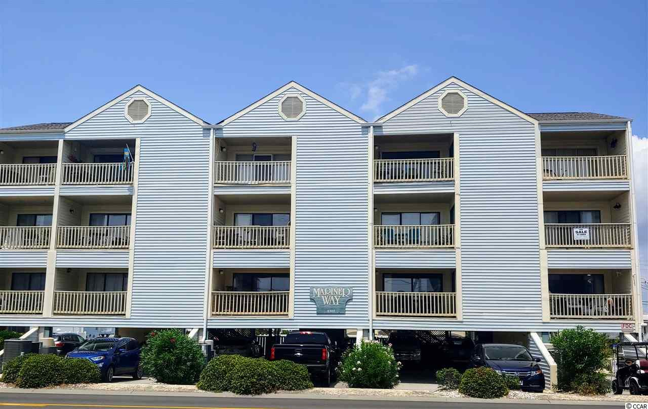Very well cared for ocean view 1BR/1BA in the desirable 15 unit complex of Mariner Way in the Cherry Grove section of North Myrtle Beach.  This 2nd floor unit with an elevator has never been rented by the current owners.  HOA fees include basic cable, water and sewer, trash pickup, maintenance of the common areas including the pool and the building, and insurance other than HO6.  Cross over Ocean Blvd and you're on the sand from this end unit which has extra windows and only 1 neighbor for added privacy.  Heat pump and windows replaced in 2016.  Huge balcony to take in the ocean breezes and sunsets after a long day enjoying the beach.  Mariner Way also has a nice pool that was refurbished within the last few years.  This is the perfect full-time home or beach getaway.  It was never rented by these owners, but the rental income should be strong on this unit too especially in the summer months for the investors out there.   Offers a great location to all that the area has to offer as it's just a few minutes drive to a myriad of restaurants, shopping, golf courses, and other entertainment options.  This one will go quickly at this low price tag!