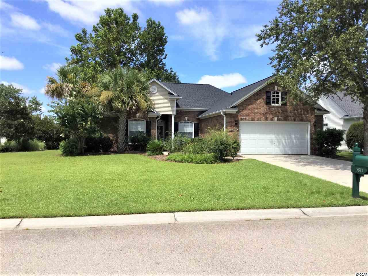This is A Fantastic deal on a wonderful single level 3/2 floorplan on a corner lot leading into a cul de sac - the peaceful and friendly community of Bridle Ridge at Barefoot welcomes you home! Every time a home in this community comes available it is sold within days. This home is beautifully landscaped, with a welcoming front entry and an open concept living and dining area! New Roof 2018 and New HVAC 2015!  The climate controlled Carolina room is a wonderful extension of the living space perfect for entertaining and family gatherings!  With vaulted ceilings and ceiling fans, tons of natural light, and a cozy eat in kitchen, this is the perfect place to call home!  The split bedroom floorplan offers a private Master suite on one side of the living space with an oversized master bath complete with soaker tub and separate shower plus a walk in closet!  The other two bedrooms are on the opposite side of the home nestled within a private alcove and a spacious shared bath with transom window and tub/shower combo! All 3 bedrooms have ceiling fans, window treatments and lots of natural light!  The back patio is accessible from the Carolina Room for grilling out!  Barefoot Resort Residents club includes a clubhouse, exercise room, pool, playground and tennis courts! Plus owners in Bridle Ridge have access to the all new oceanfront cabana (under construction) complete with parking! Barefoot Resort is also the home of 4 championship golf courses!  What an incredible value so close to the beach and intercoastal! Priced to sell - this won't last long! Ask to see it today!