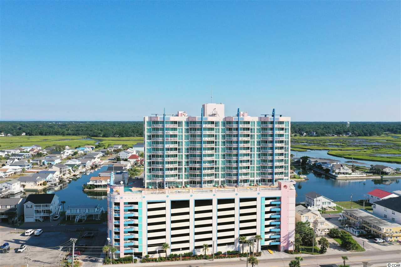 Absolutely beautiful oceanfront view condo located in the heart of Cherry Grove, SC has been updated throughout. Prince Resort Phase II has a pool deck that includes a lazy river, pools, hot tubs and kiddie pool area all on the 9th floor, along with a fitness center enclosed. You can even enjoy the Cherry Grove Pier right across the street. Buyer is responsible for all measurement verification.