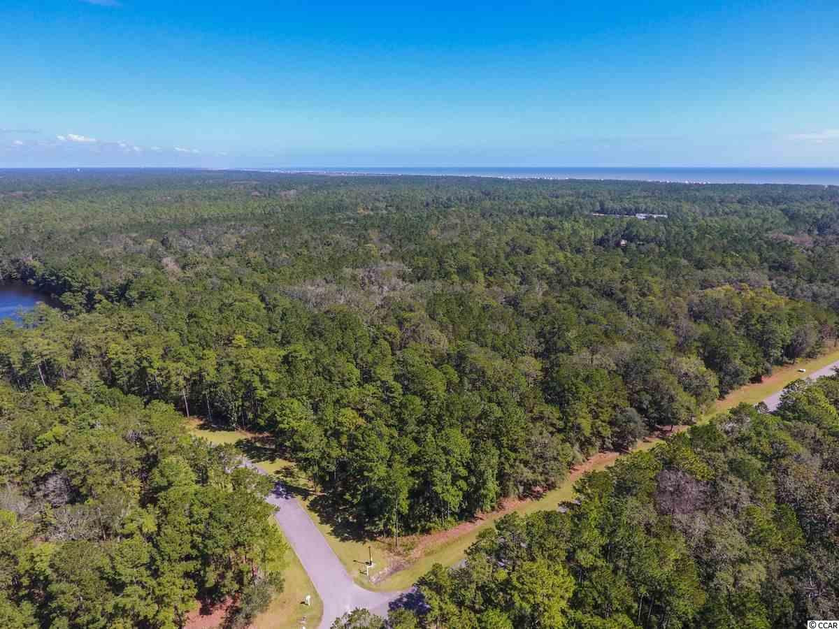Beautiful 4.67 acre lot on the lake. This corner lot is located on the ocean side of Prince George community with riverside access. Just south of Pawleys Island, the unique Prince George community has only 150 unique single family homesites that stretch from the AtlanticOcean to the Waccamaw River (Intracoastal Waterway). Prince George offers a wide variety of recreational activities that rejuvenate the mind, body and spirit. The oceanside amenities include a swimming pool, clubhouse, tennis, volleyball and basketball courts, nature trails, private beach access and a 5 acre lake. The riverside amenities include a River Clubhouse with sitting area, fireplace, board walk and 28 slip marina along the Waterway.