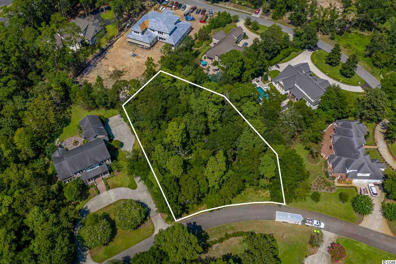 Awesome home site in popular Dunes Cove.  Design your dream home.  Lot just off main street tucked away on Park.  View the location from the ocean via aerial shot showing Dunes Golf Club and blue Atlantic.