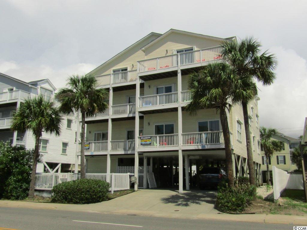 "Make memories while you enjoy being with family and friends in this wonderful 7 Bedroom Condo with 5 full Baths and 2 Half Baths in North Myrtle Beach, just across the street from the beautiful Atlantic Ocean.  The ""Tahitian Taj"" has it all!  The Condo offers large living areas that are bright with natural light, tile floors, fans, a wet bar, a Breakfast Bar, Ocean View Balconies on all 3 floors, Granite Counter Tops in the kitchen, 3 Jacuzzi tubs in the bathrooms and a huge Game Room with a Pool Table, Foosball and Air Hockey Tables sitting on luxury vinyl flooring. It also has a pool as well as an oversized jacuzzi. Parking is under the building. You don't want to miss this one! This Condo has the potential for great rental income."