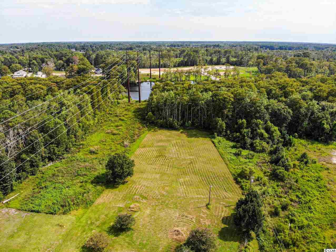 This beautiful lot located ON THE INTRACOASTAL WATERWAY is almost TWO ACRES of land! An amazing location with NO HOA!! Being in a great location, you are just minutes from Market Commons, Broadway at the Beach, the beach, restaurants, and so much more! This extremely well-kept lot is the perfect opportunity to build your dream home!