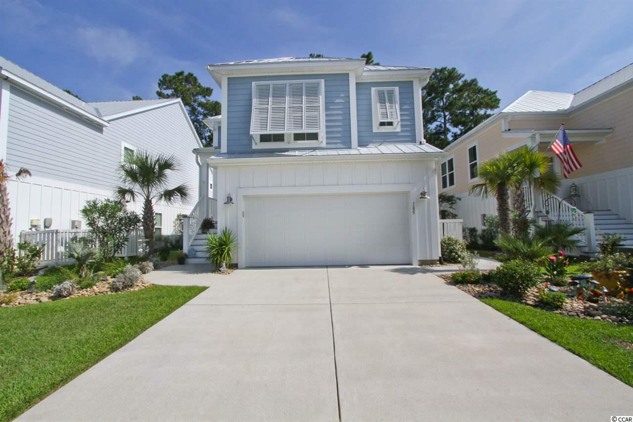 Immaculate raised beach style home in sought after Wilderness Pointe in Price Creek! The exterior features Hardi-Plank siding, metal roof, Bahama Shutters and Hurricane proof windows throughout. It has two living areas that make it appealing for almost any family's needs. The main living area has a fabulous open kitchen concept with stainless steel appliances, granite counter tops, tiled back-splash, upgraded cabinets, gas range and breakfast bar. Beautifully decorated with a beachy feel and a screened in back balcony. The first level has upgraded laminate tile flooring with two bedrooms and a full bathroom. The back patio has been extended, perfect for entertaining with a outdoor gas line for a grill and irrigation system for the yard. Backyard is fenced for convenience. Wilderness Pointe is located near Murrells inlet Marshwalk, famous restaurants, beautiful beaches, shopping and golf courses. House shows like a model, schedule your showing today!