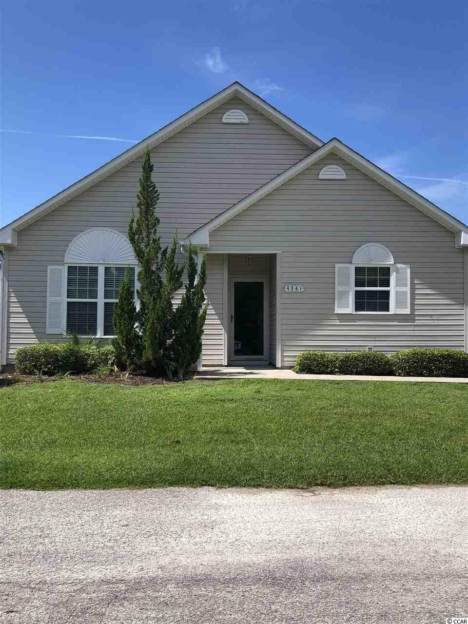 Rivergate is a 55+ designated adult community. Conveniently located to shopping, waterfront dining and medical facilities. Move in ready home features an open floor plan with vaulted ceiling in the living area. Kitchen features lots of cabinet space with dining area. Spacious laundry room with Washer & Dryer. Home has just been painted and professionally cleaned. Come enjoy the peaceful lifestyle and let someone else take care of the lawn while you enjoy making new friends. HOA includes basic cable, trash pickup, pest control, yard maint., community clubhouse and pool.