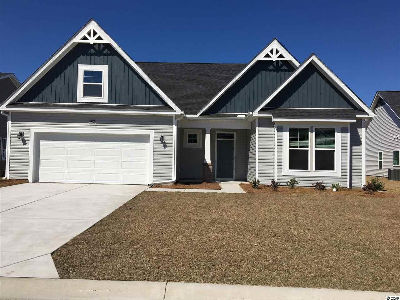 """New Wrightsville 2 story home with 3 bedrooms, study and bonus on large spacious water home site just starting October 2020 so there is time to pick your personalized features and colors. This home has had a covered porch, bay window in both the dining room and the master bedroom added along with a fireplace, window jambs.   Our design team has added the following selections to this home: Fireplace. Ceramic tile in the baths and laundry. 5"""" laminate in the foyer, great room, casual dining and kitchen. Comfort height toilets. Upgraded kitchen faucet. Upgraded brushed nickel finishes. Audio chase pipe for hanging the TV. Pendant lights over the kitchen island.  Ceiling fans in the Master bedroom and Great room. 4 Can lights in the great room. Gourmet kitchen with SST appliances, Gas cook top, double oven and microwave that is vented to the exterior. Upgraded kitchen backsplash. Upgraded marble countertops in all baths. Upgraded Quartz counter tops in the kitchen. Single bowl SST kitchen sink. Upgraded cabinets with crown molding and painted.     Picture is for representation purposes only.  """"Photos are of a similar Wrightsville home. (Home and community information, including pricing, included features, terms, availability and amenities, are subject to change prior to sale at any time without notice or obligation. Square footage's are approximate. Pictures, photographs, colors, features, and sizes are for illustration purposes only and will vary from the homes as built.)"""