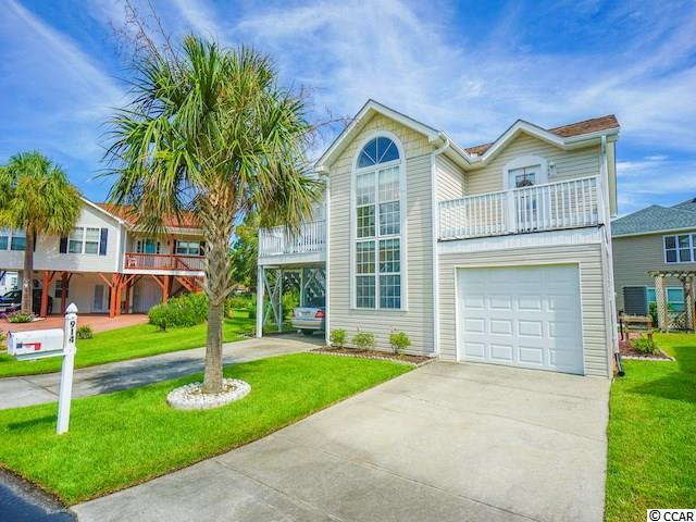 Welcome to this immaculate 4 bedroom 3 bath home located in the desirable Salters Cove! This home has never been rented, and it has an open concept living space with cathedral ceilings throughout. There is plenty of space to entertain, including an attached garage for ample parking. Salters Cove is conveniently located, and only a walk to the beach. It is minutes from the famous Marsh Walk and countless restaurants! This would make for a perfect full-time home or fun beach getaway. Schedule your showing now!