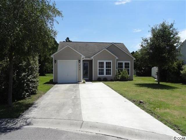 This very sought after 3 bedroom, 2 bathroom home with vaulted ceiling has a large newly fenced in backyard, widened driveway, single car garage, new flooring, HVAC replaced 2 years ago. Has a screen in rear patio and is centrally located to all Myrtle Beach has to offer.
