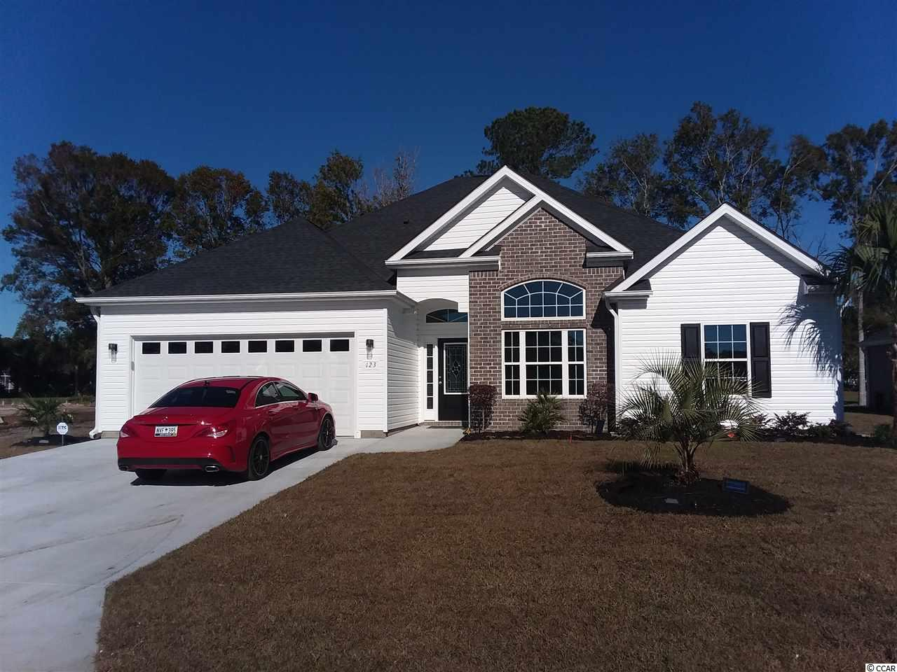 New 3 bedroom , 2 bath home in the Tomahawk Estates subdivision in the Arrowhead Golf Course Community.  The homes includes stainless steel appliances, LVT thru-out, granite counter tops in the kitchen, one panel of brick and a fully sodded yard.