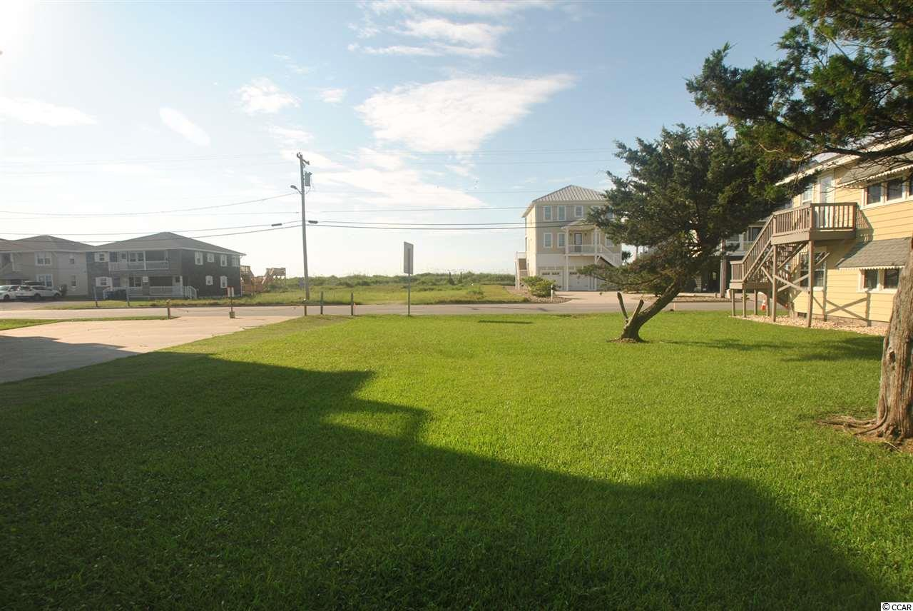Great second row home site in North Myrtle Beach. Ready to Build. Ocean views with beach access across the street.