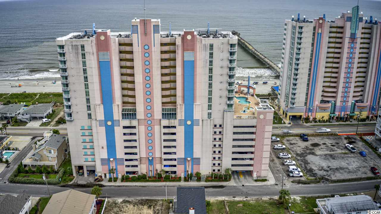 This gorgeous TRUE 1 Bedroom is offered for sale completely furnished! The views of the Atlantic ocean and the Pier are breathtaking from this 12th floor condo! As soon as you enter, you can tell it has been well cared for, and has all the updates your heart will desire. Full size kitchen, washer and dryer in the condo, fresh paint tiled floors thru the whole condo and new furnishings make it a perfect vacation home, rental property or even primary residence! All inclusive HOA is a nice bonus to all the amenities offered at the Resort.  There is also a brand new HVAC system installed in August 2020. The Resort offers outdoor pools, lazy river, pool deck,a fitness center and more! Conveniently located to dining & entertainment, shopping and the attractions in North Myrtle Beach.